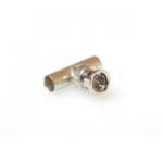 Bnc Rg 58 T- Adapter 2x Female - 1x Male