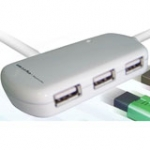 Lan-0202h USB 2.0 4 Port Hub With Repeater 12m