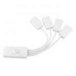 Flexible 4 Port USB Hub