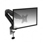 Desk Mount with Gas Spring for 1 Monitor up to 27in with VESA
