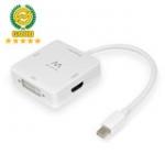Mini DisplayPort to HDMI/VGA/DVI Converter 4K@30Hz