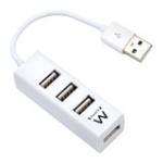 Mini Hub USB 2.0 4-Port