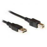 USB 2.0 A male - USB B male 1.80m
