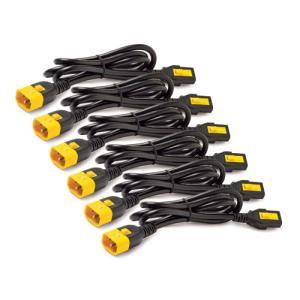 Power Cord Kit, Locking, C13 to C14/ 1.2m - 6pk